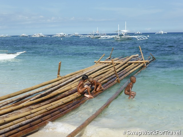 Our nearest beach while Swapping in Panglao Island